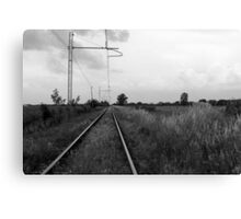 train rails Canvas Print