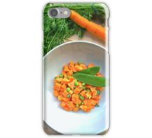 Carrots And Peas iPhone Case/Skin