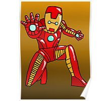 Cute Iron Man Poster