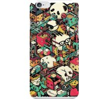 Isometric City (Colored) iPhone Case/Skin