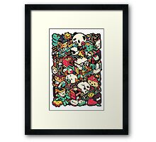 Isometric City (Colored) Framed Print