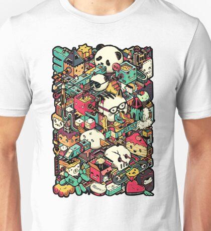 Isometric City (Colored) Unisex T-Shirt