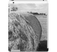 hay in the countryside iPad Case/Skin