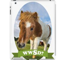 What Would Swanson Do? iPad Case/Skin