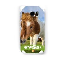 What Would Swanson Do? Samsung Galaxy Case/Skin