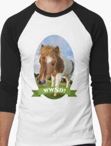 What Would Swanson Do? Men's Baseball ¾ T-Shirt