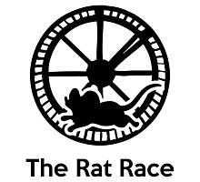 The Rat Race Photographic Print