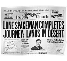 Lone Spaceman Poster