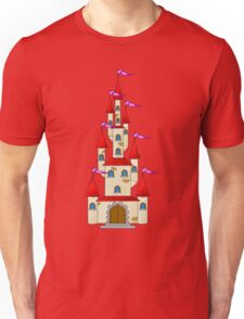Tall Fairytale Castle Unisex T-Shirt