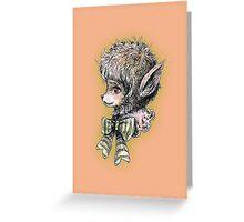 Wolf Gurl Greeting Card