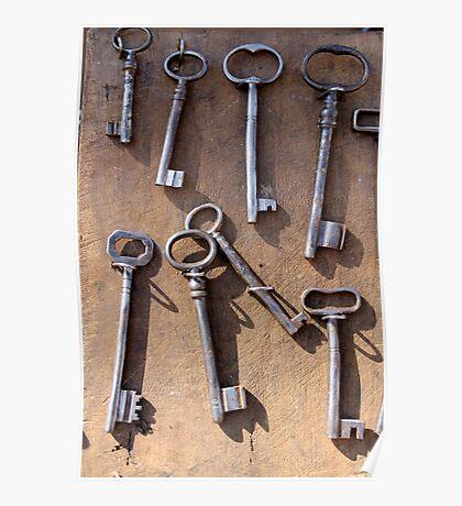 old set of keys Poster