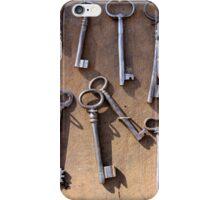 old set of keys iPhone Case/Skin
