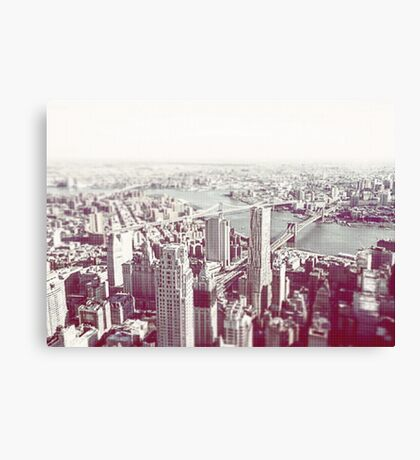 New York From a New Zenith 2016 *Colour* Canvas Print