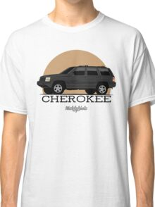 Jeep Grand Cherokee (ZJ) (black) Classic T-Shirt