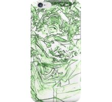 abstract scrap metal iPhone Case/Skin