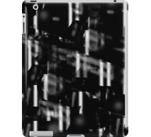 Black and white neon city iPad Case/Skin
