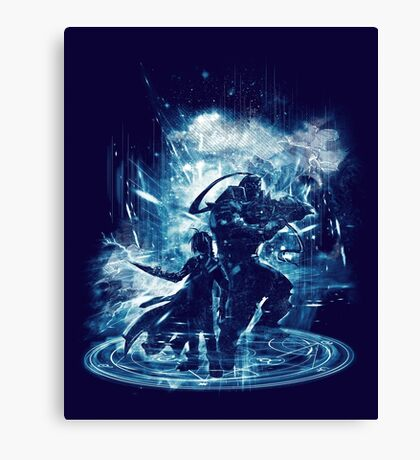 transmutation storm Canvas Print