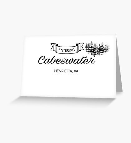 Entering Cabeswater Greeting Card