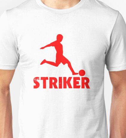 Soccer Player Striker Unisex T-Shirt