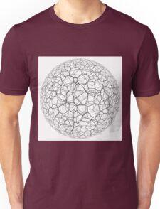 Spongy black and white ball Unisex T-Shirt