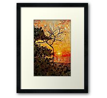 Hot Night In The Tropics Framed Print