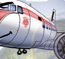 "WINGS Series ""DC-3"" Sticker"