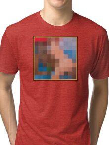 Kanye West - My Beautiful Dark Twisted Fantasy Tri-blend T-Shirt