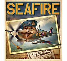 "WINGS Series ""SEAFIRE"" Photographic Print"