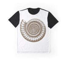 Dotted Ammonite Shell Graphic T-Shirt