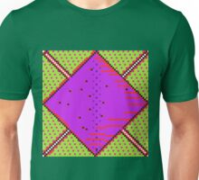 Sci-Fi Diamond Acid Green Unisex T-Shirt