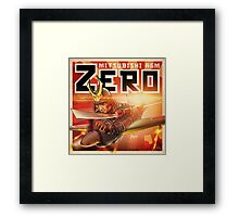"WINGS Series ""ZERO"" Framed Print"