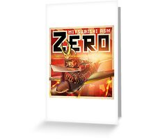 "WINGS Series ""ZERO"" Greeting Card"