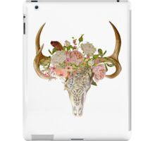 Skull & Flowers iPad Case/Skin