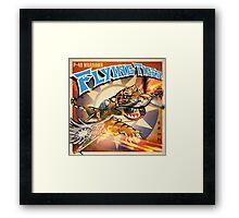 "WINGS Series ""FLYING TIGER"" Framed Print"