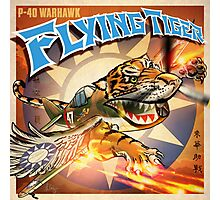 "WINGS Series ""FLYING TIGER"" Photographic Print"