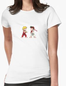 Street Brawler II (Wee-Guys) Womens Fitted T-Shirt
