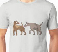 doggy sniff Unisex T-Shirt