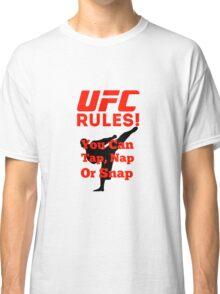 UFC Rules Classic T-Shirt