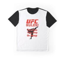 UFC Rules Graphic T-Shirt