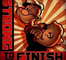 """""""POPEYE- Strong to the Finish""""  by Pat McNeely"""