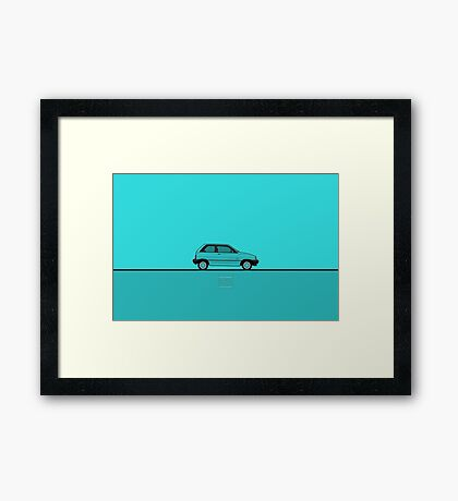 Ford Festiva Framed Print