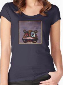 Kanye West - My Beautiful Dark Twisted Fantasy Bear Women's Fitted Scoop T-Shirt
