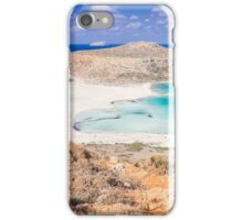 balos lagoon iPhone Case/Skin