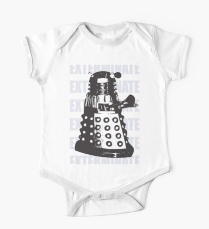 DALEK EXTERMINATE One Piece - Short Sleeve
