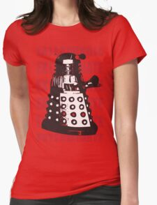 DALEK EXTERMINATE Womens Fitted T-Shirt
