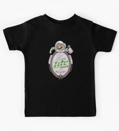 Buzz Lite Beer Kids Tee
