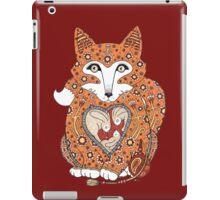 Floral Fox Cub iPad Case/Skin