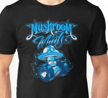 Mushroom on Wheels Unisex T-Shirt
