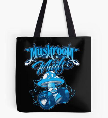 Mushroom on Wheels Tote Bag