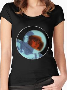 Daft Punk- Interstella 5555 Trippy Shep  Women's Fitted Scoop T-Shirt